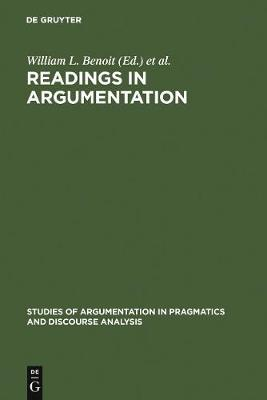 Readings in Argumentation