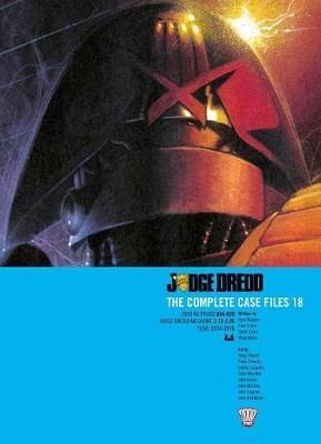 Judge Dredd the Complete Case Files Vol. 18 by John Wagner image