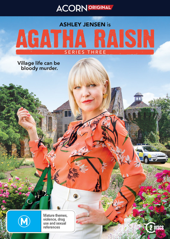 Agatha Raisin - Series 3 on DVD