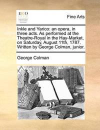 Inkle and Yarico by George Colman