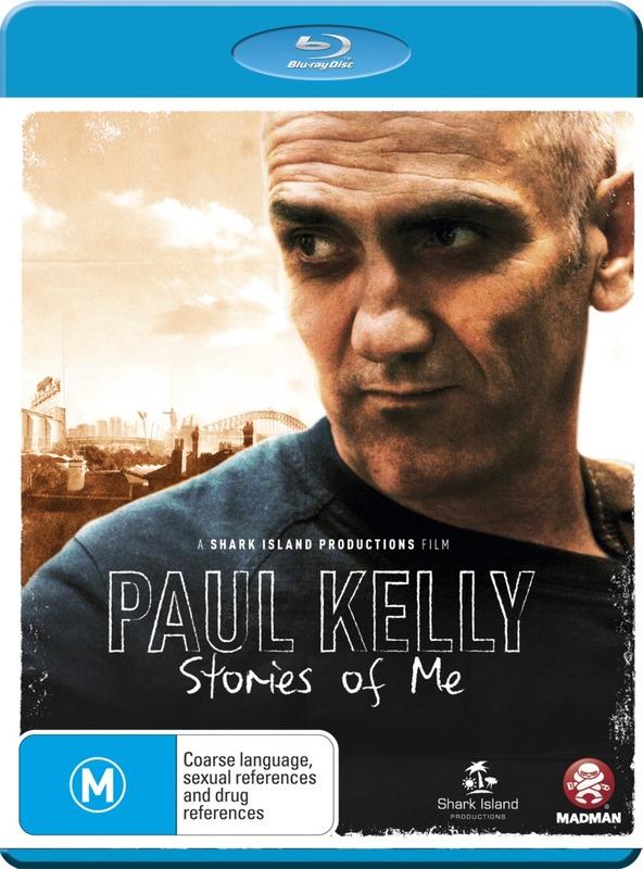 Paul Kelly: Stories of Me on Blu-ray