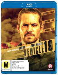 Vehicle 19 on Blu-ray