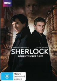 Sherlock - Complete Series Three on DVD