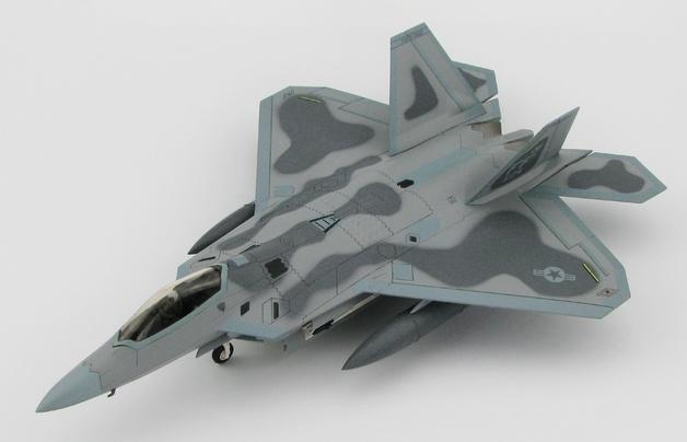 """Hobby Master: 1/72 Lockheed F-22 Raptor """"Maloney's Pony"""" - Diecast Model"""