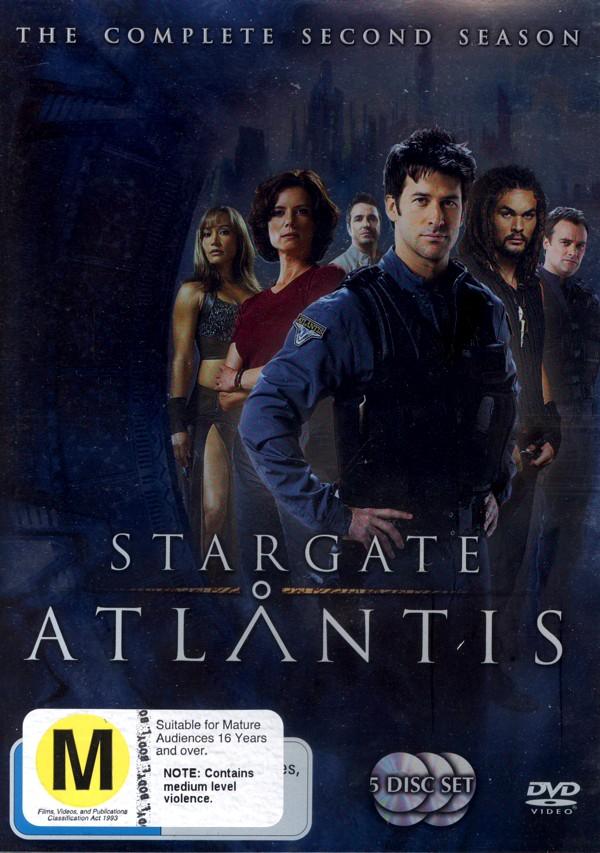 Stargate Atlantis - Complete Season 2 (5 Disc Slimline Set) (New Packaging) on DVD image