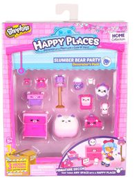 Shopkins: Happy Places - S1 Decorator Pack Slumber Bear Party