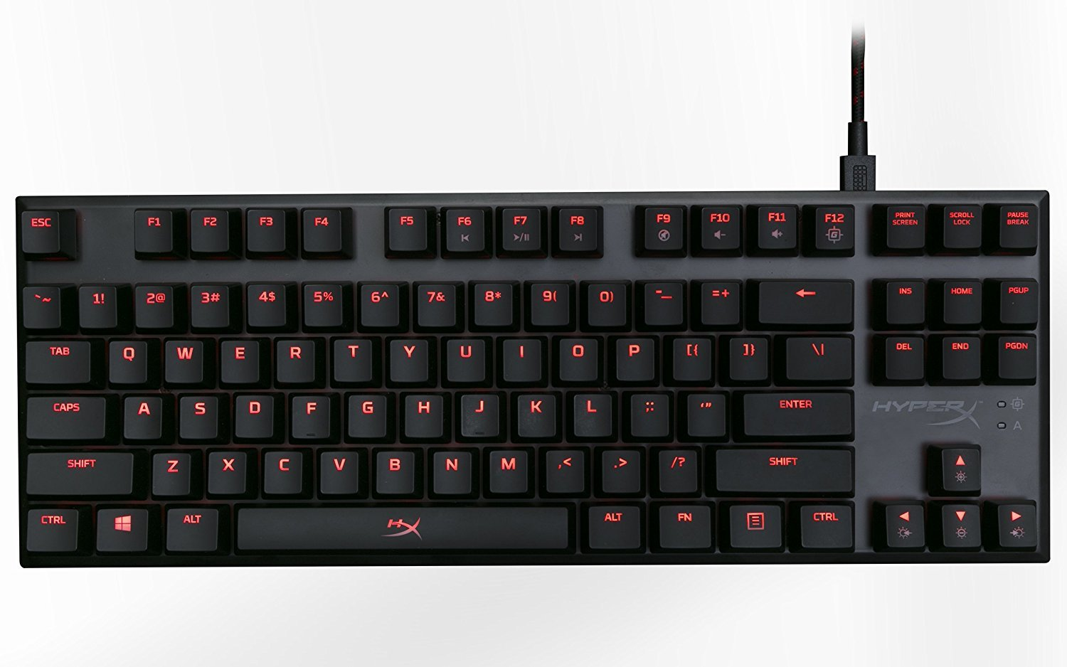 HyperX Alloy FPS Pro Mechanical Gaming Keyboard (Cherry MX Red) for PC image