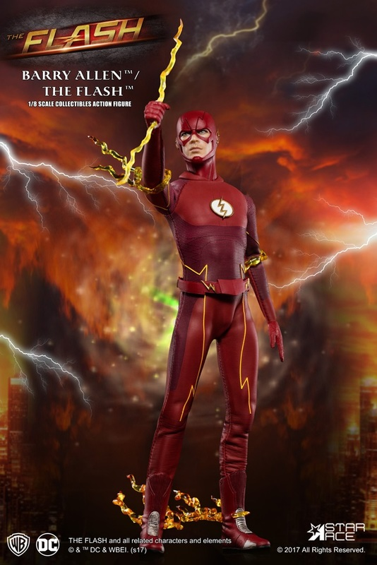 The Flash (S5) - 1:8 Scale Deluxe Figure