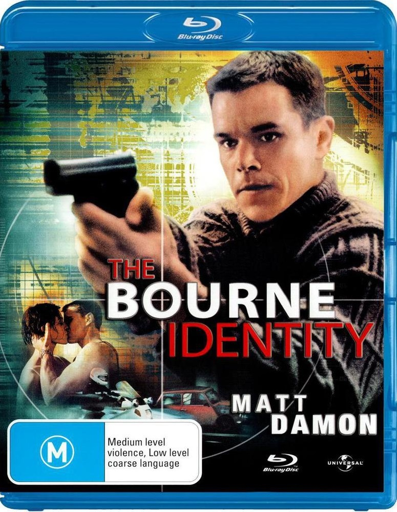 The Bourne Identity on Blu-ray image