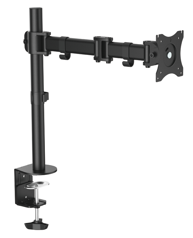 "OMP Desk Mount Single Arm 13-27"" Monitor Vesa 75/100 Mount"