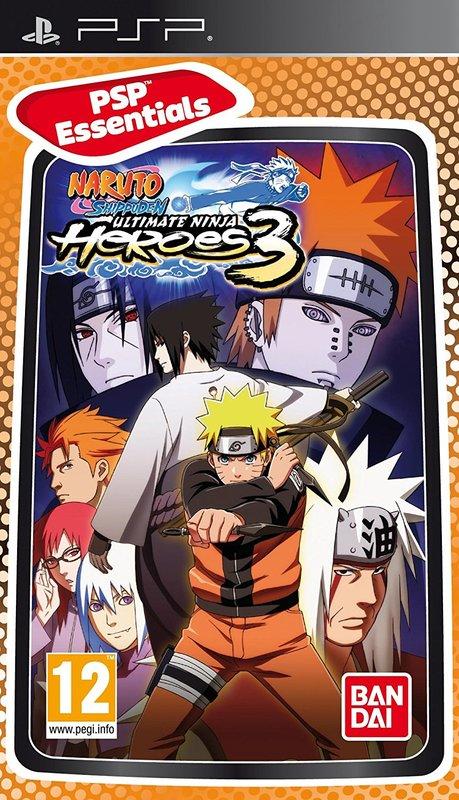 Naruto Shippuden: Ultimate Ninja Heroes 3 (Essentials) for PSP