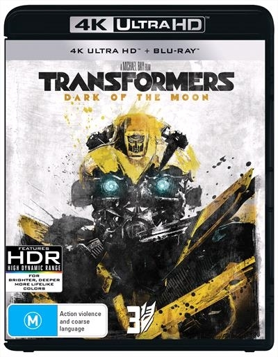 Transformers: Dark Of The Moon on UHD Blu-ray image