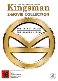 Kingsman Double Pack on DVD