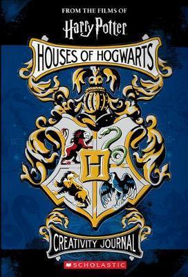 Harry Potter: Houses of Hogwarts Creativity Journal by Jenna Ballard image