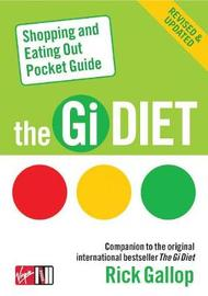 The Gi Diet Shopping and Eating Out Pocket Guide by Rick Gallop image