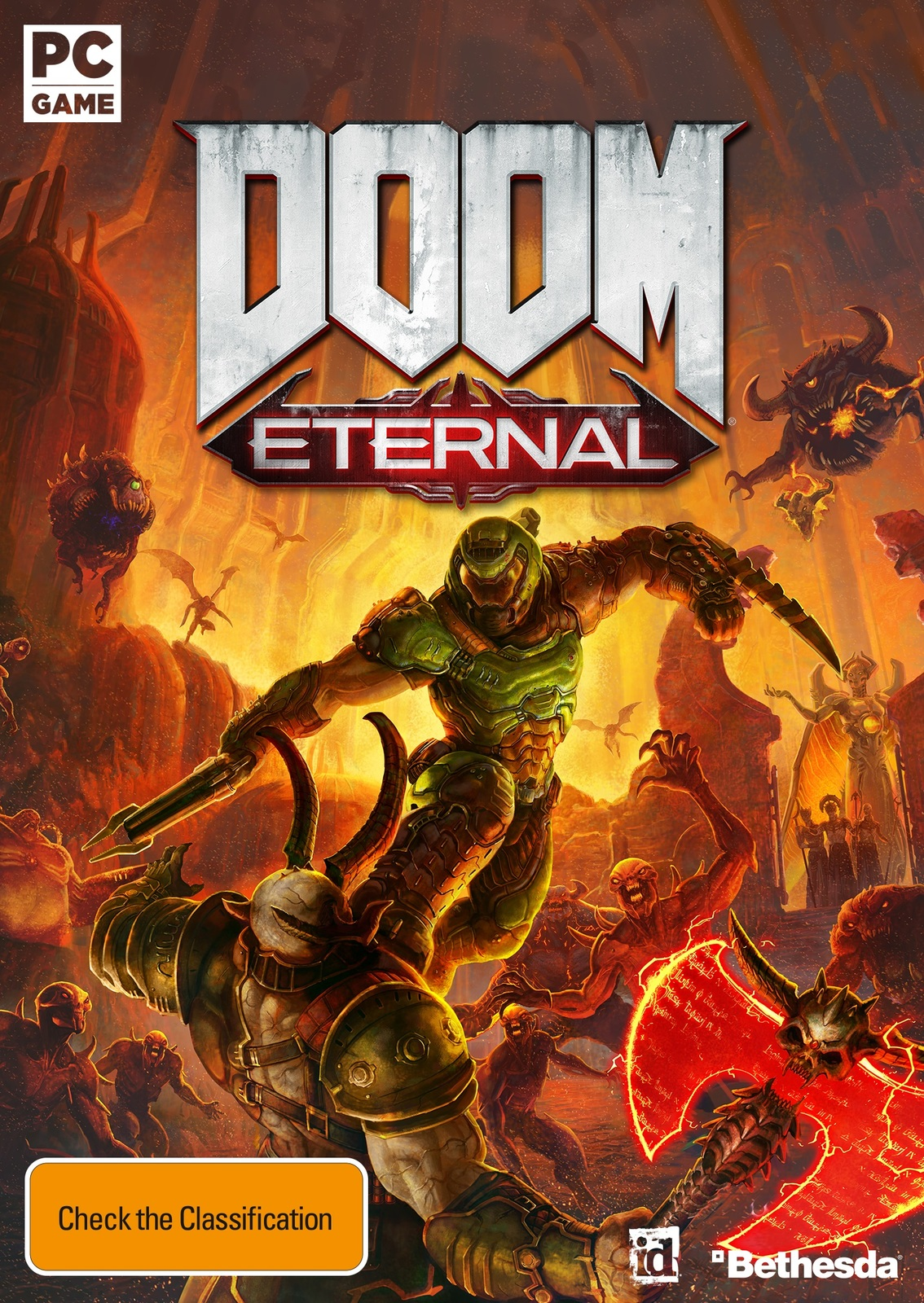 DOOM Eternal (code in box) for PC image