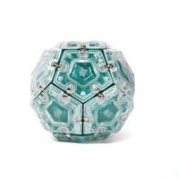 Speks: Geode Magnetic Pentagons - Aquamarine