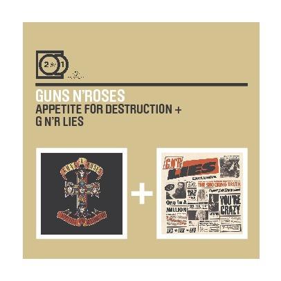 2FOR1: Appetite for Destruction / N'R Lies by Guns N' Roses