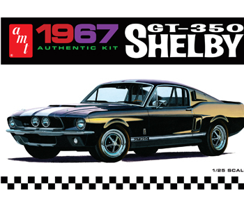 AMT 1967 Shelby GT350 1/25 Model Kit image