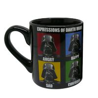 Star Wars Darth Vader Expressions Mug image