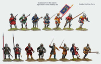 Agincourt French Infantry 1415-29 image