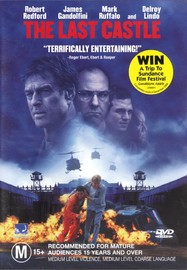 The Last Castle on DVD image