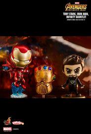 Avengers: Infinity War - Iron Man & Infinity Gauntlet Cosbaby Set