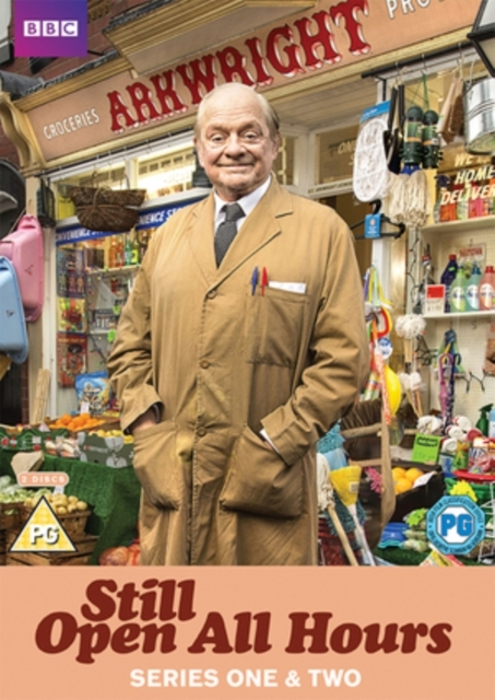 Still Open All Hours Series 1-2 on DVD