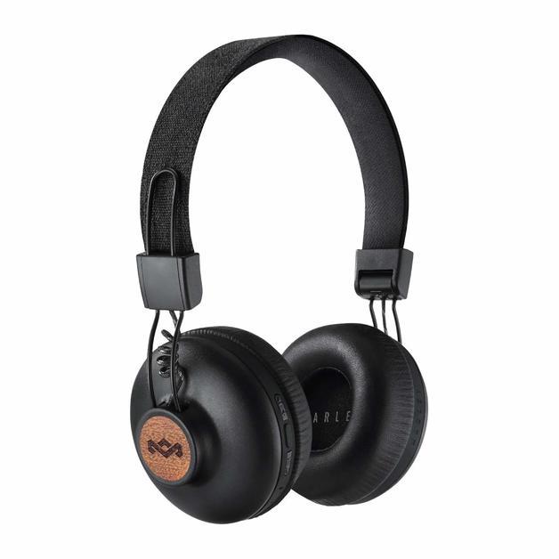 Marley: Positive Vibration 2 Wireless On-Ear Headphones - Signature Black