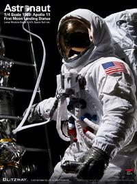 Astronaut: Apollo 11 (1st Moon Landing) - 1:4 Scale Statue