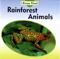 Rainforest Animals by Claire Llewellyn image