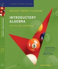 Introductory Algebra: An Applied Approach by Joanne S Lockwood image