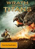 Wrath of the Titans on DVD