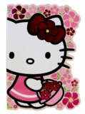 Hello Kitty Blossom Die Cut Notebook