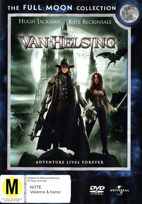 Van Helsing - Single Disc Edition on DVD
