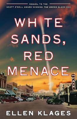 White Sands, Red Menace by Ellen Klages image