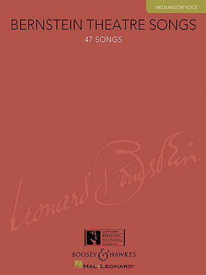 Bernstein Theatre Songs by Leonard Bernstein