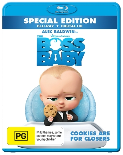 The Boss Baby on Blu-ray
