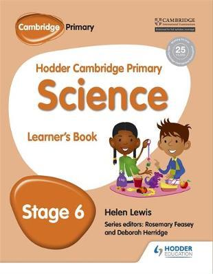 Hodder Cambridge Primary Science Learner's book 6 by Peter Riley