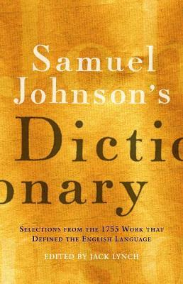 Samuel Johnson's Dictionary image