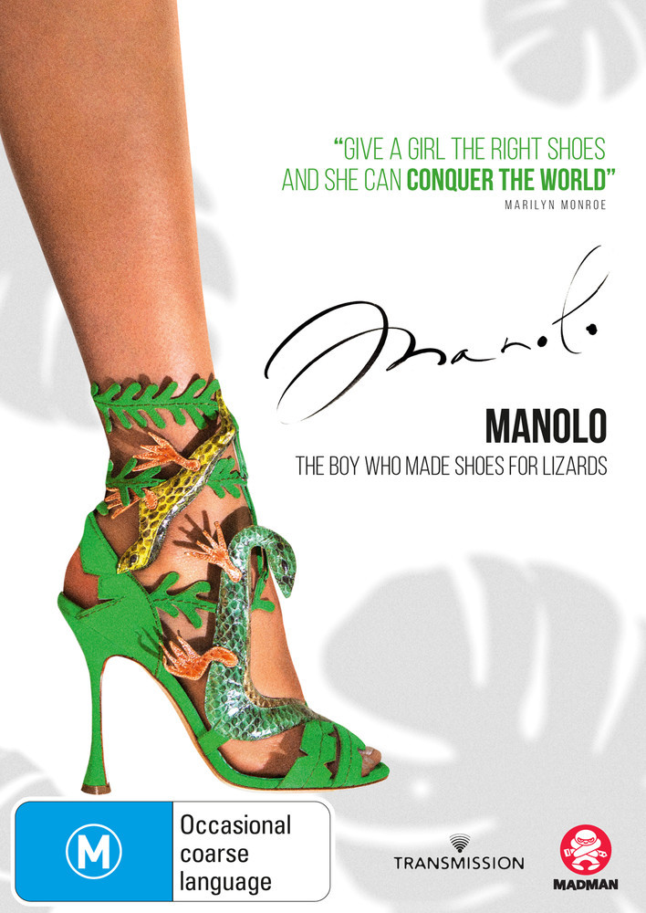 Manolo: The Boy Who Made Shoes For Lizards on DVD image