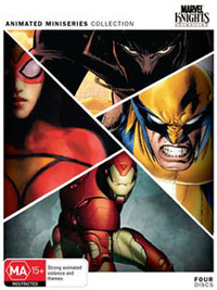 Marvel Knights - Animated Miniseries Collection (4 Disc Set) on DVD