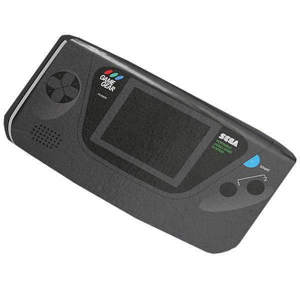 Game Gear Notepad