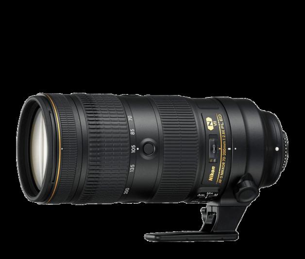 Nikon: AF-S NIKKOR 70-200mm f/2.8E FL ED VR Lens