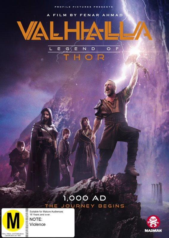 Valhalla: Legend Of Thor on DVD