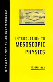 Introduction to Mesoscopic Physics by Yoseph Imry image