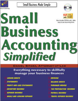 Small Business Accounting Simplified by Daniel Sitarz image