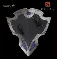 "Dota 2 Vanguard Shield 26"" Prop Replica - by Weta"