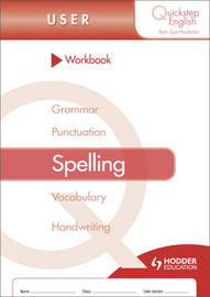 Quickstep English Workbook Spelling User Stage by Sue Hackman image