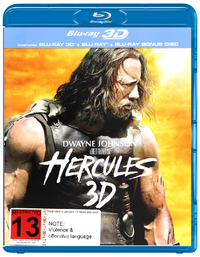Hercules - Special Edition on Blu-ray, 3D Blu-ray